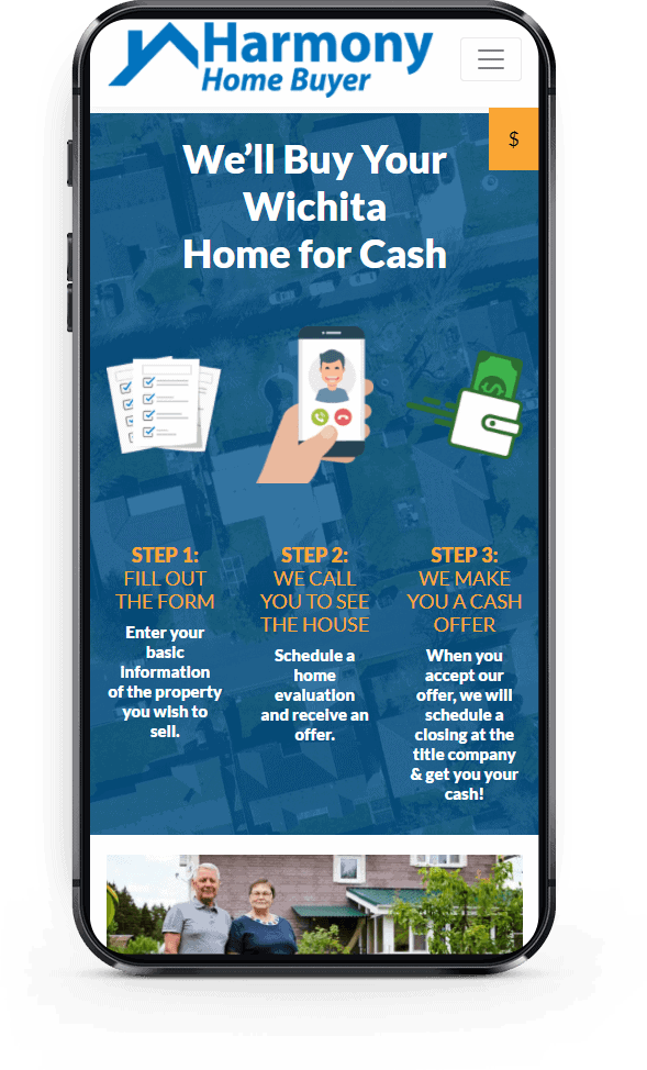Harmony Home Buyer Mobile View